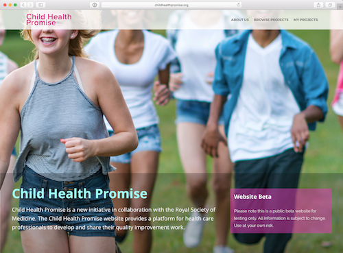 Child Health Promise website