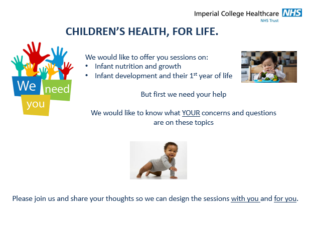 CHILDREN'S HEALTH FOR LIFE  – GIVING  PARENTS KNOWLEDGE AND CONFIDENCE TO MANAGE THEIR INFANT'S HEALTH